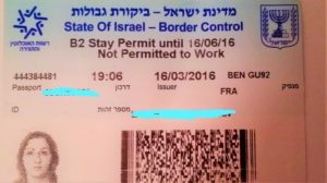 visa-israël