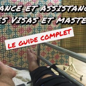 Assurance et assistance voyage des carte Visa premier et Mastercard : le guide complet