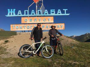 Azamat qui me guide au Kirghizistan