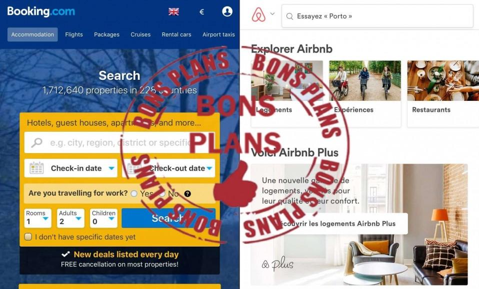 3 techniques pour obtenir des réductions sur tes logements, en utilisant Booking et Airbnb.
