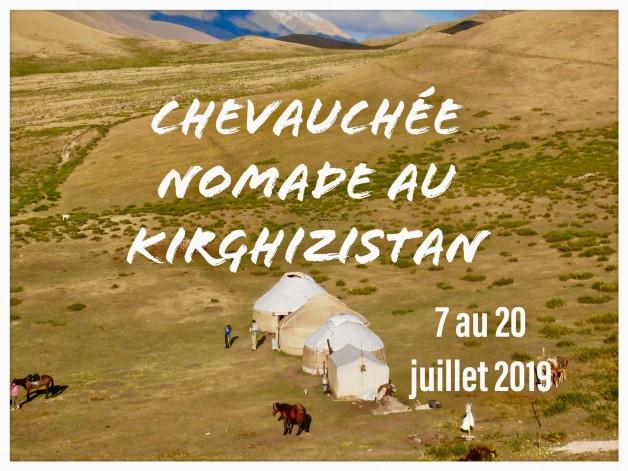 Chevauchée nomade au Kirghizistan